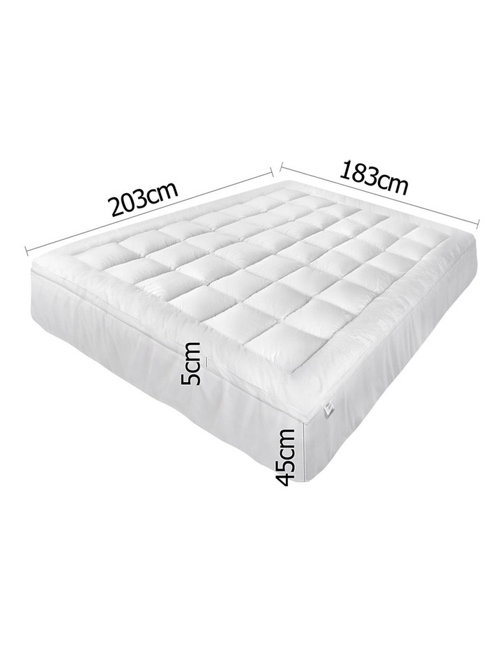 Giselle Bedding King Size Memory Resistant Mattress Topper image 2