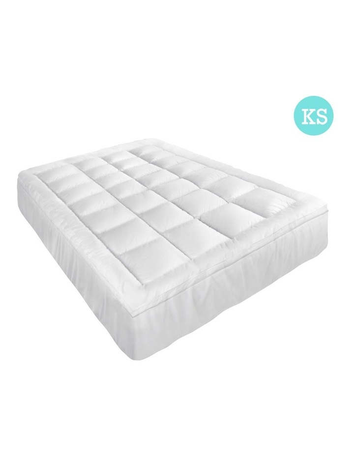 Giselle Bedding King Single Size Memory Resistant Mattress Topper image 1