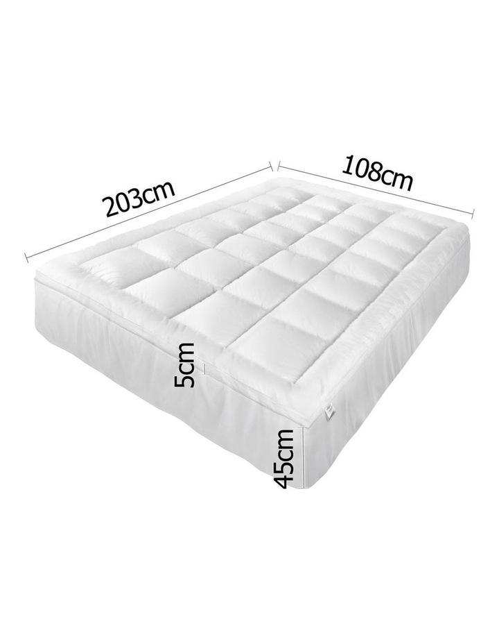 Giselle Bedding King Single Size Memory Resistant Mattress Topper image 2