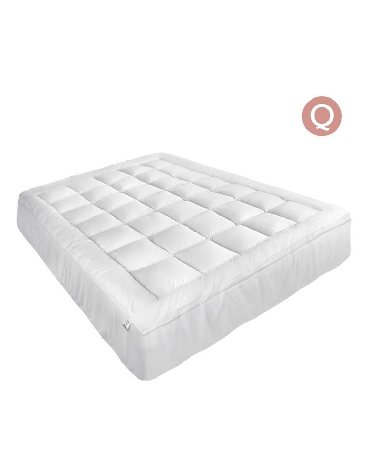 Giselle Bedding Queen Size Memory Resistant Mattress Topper image 1