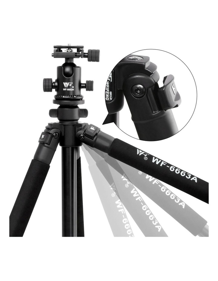 Weifeng 173cm Professional Ball Head Tripod image 5