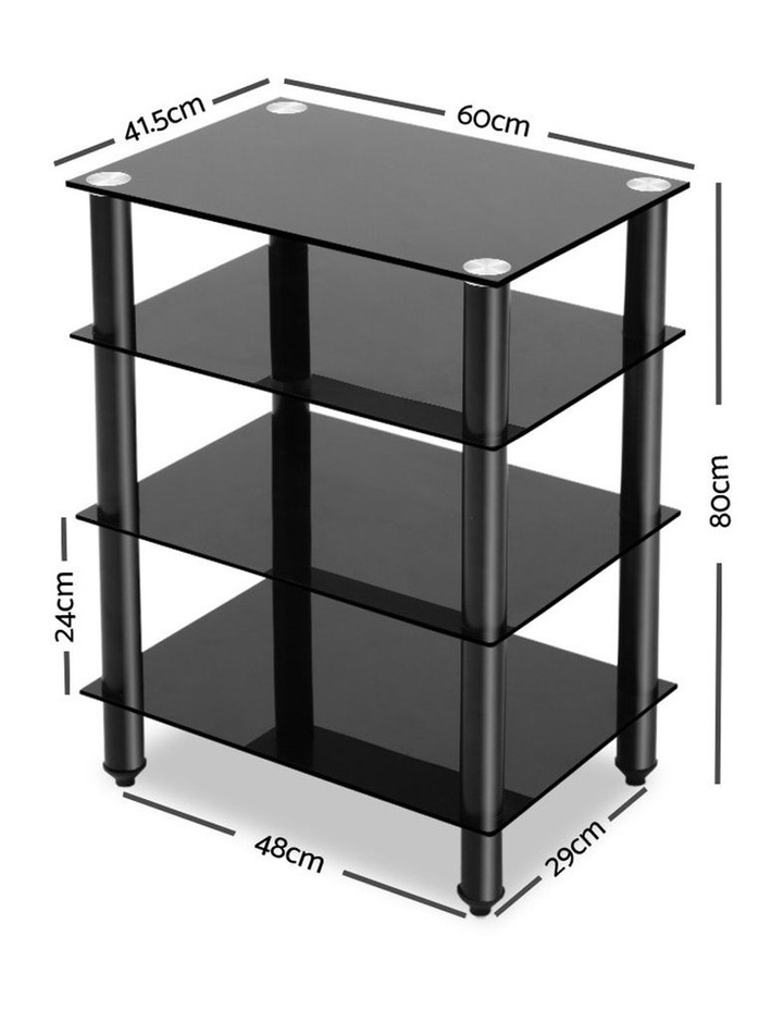 4 Tier TV Media Stand image 2