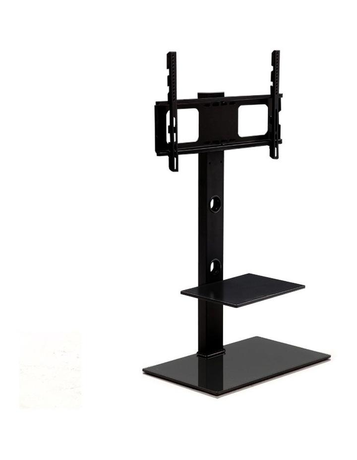 Floor TV Stand with Bracket Shelf Mount image 1