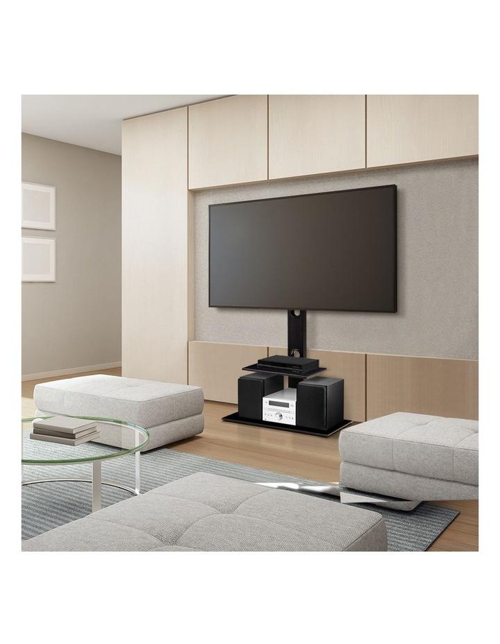 Floor TV Stand with Bracket Shelf Mount image 3