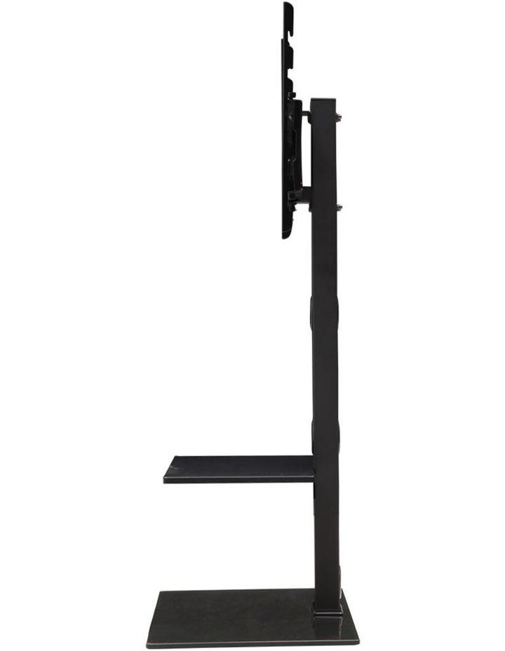 Floor TV Stand with Bracket Shelf Mount image 4