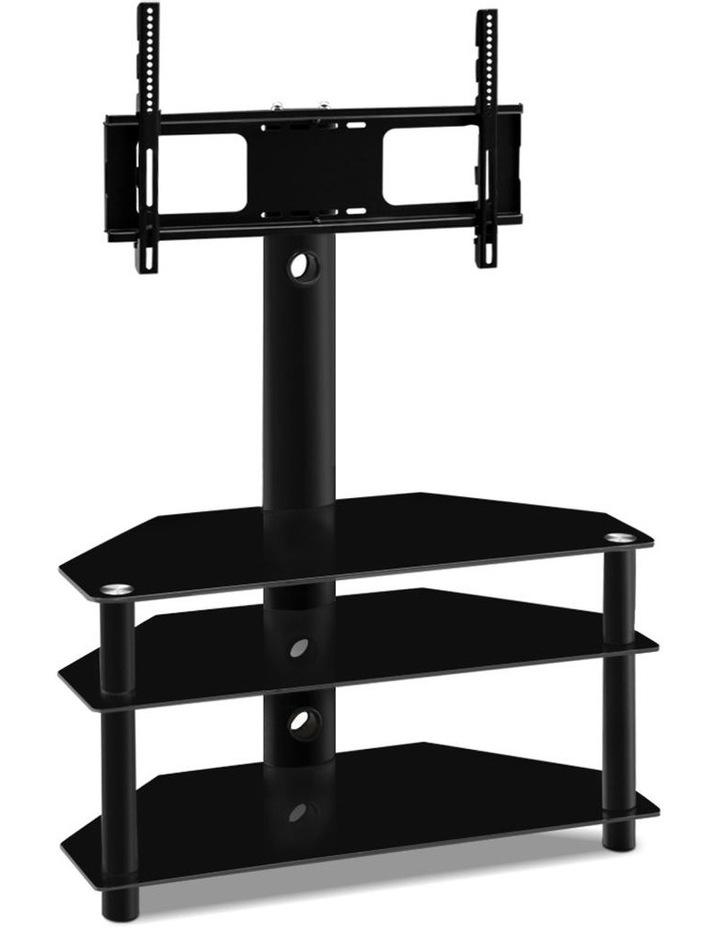 3 Tier Floor TV Stand with Bracket Shelf Mount image 1