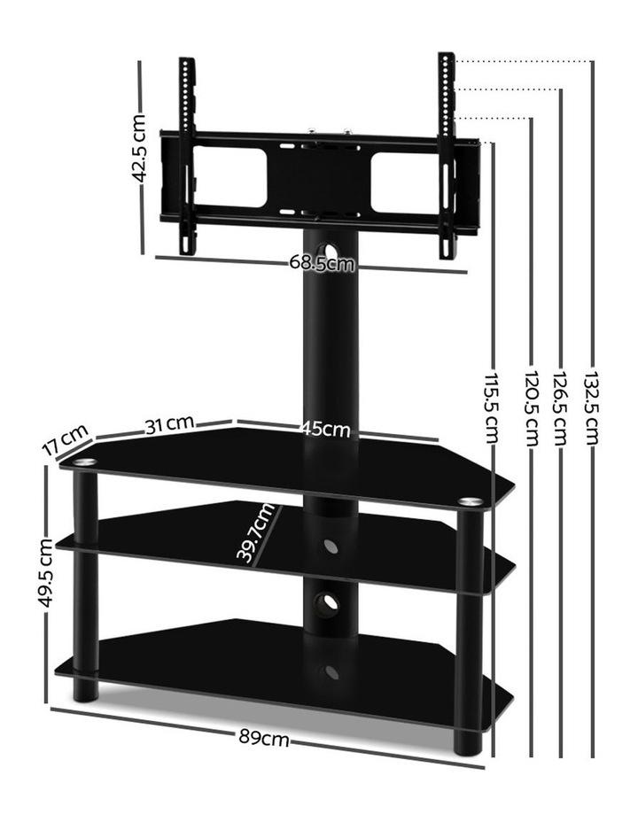 3 Tier Floor TV Stand with Bracket Shelf Mount image 2