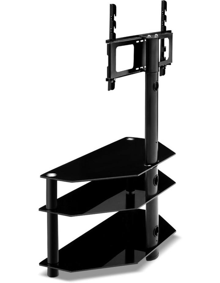 3 Tier Floor TV Stand with Bracket Shelf Mount image 5