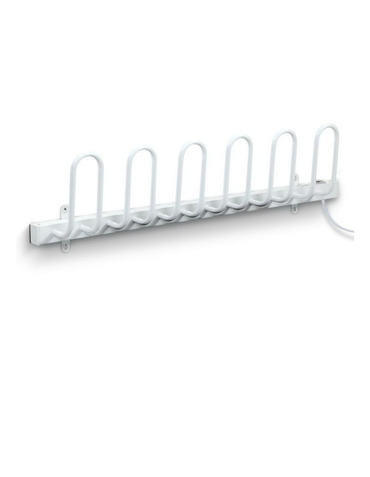 Electric Heated Shoes Warmer Dryer Racks Bars Rails Sterilizer Heater image 1