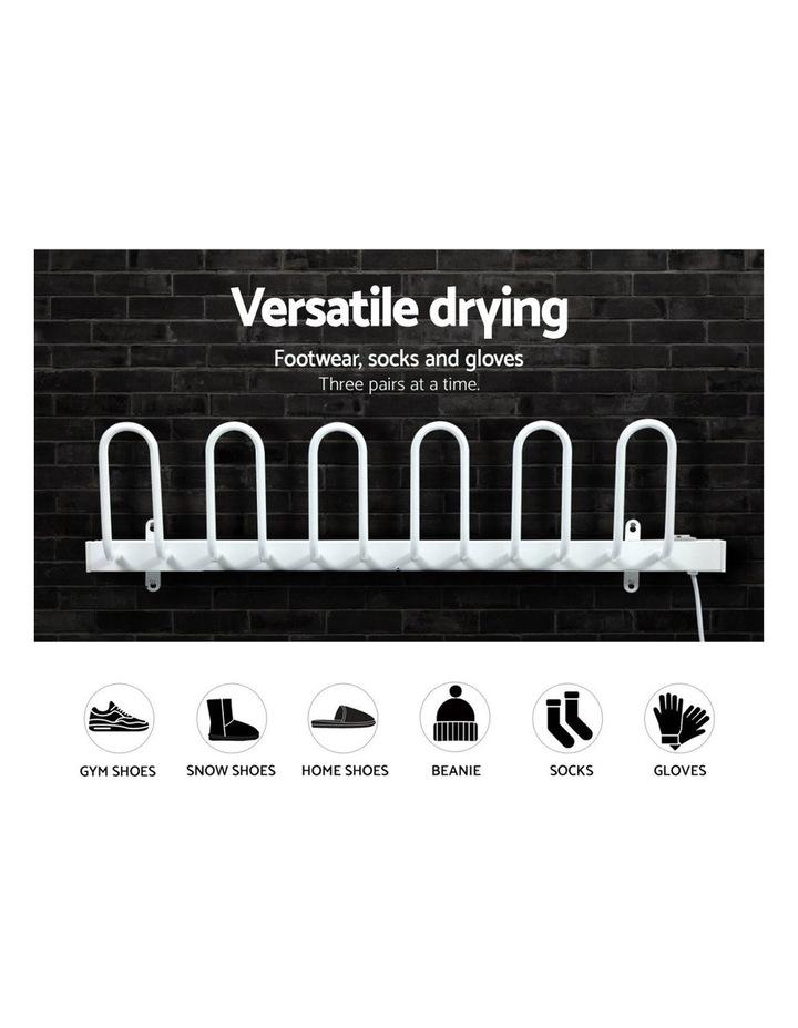 Electric Heated Shoes Warmer Dryer Racks Bars Rails Sterilizer Heater image 5