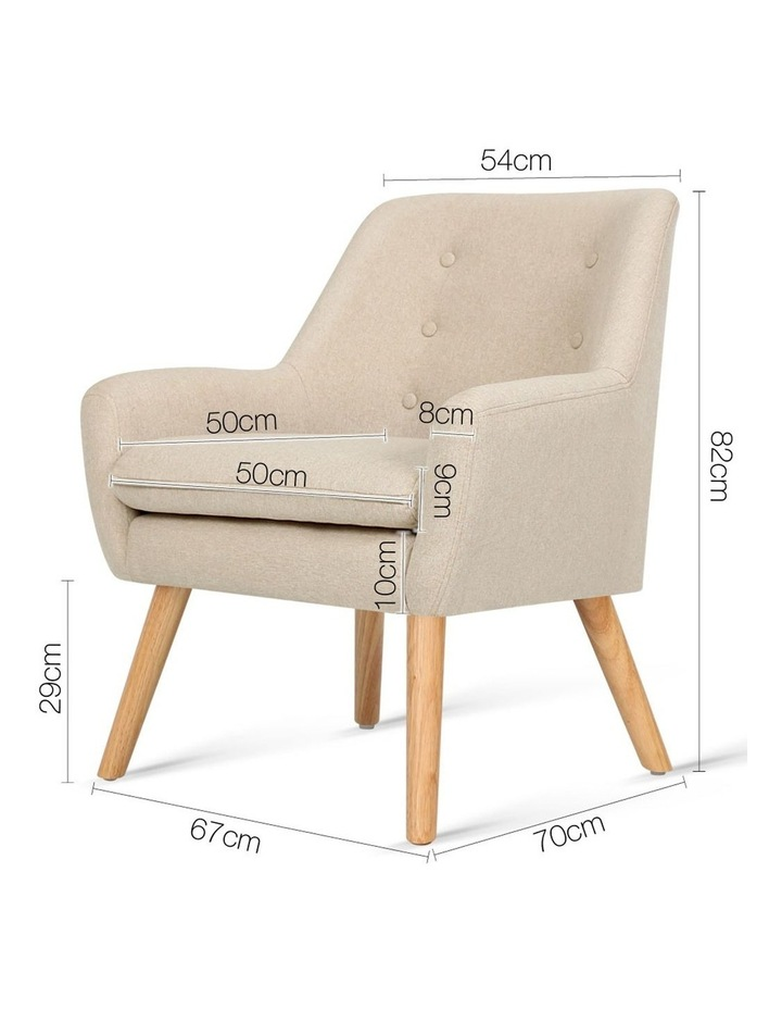 Fabric Dining Armchair image 2
