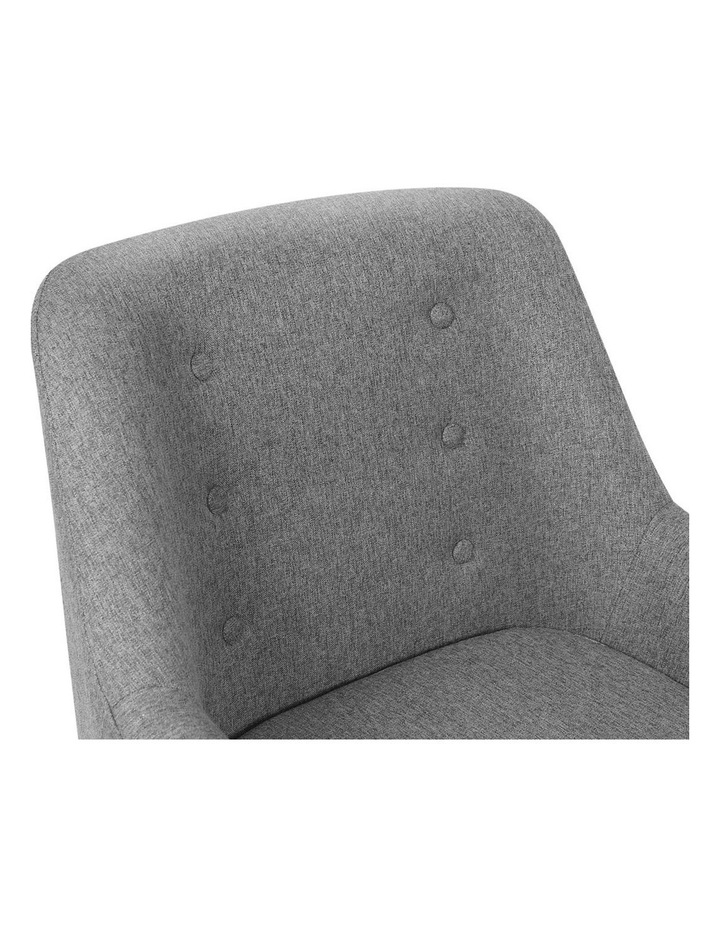Fabric Dining Armchair image 5