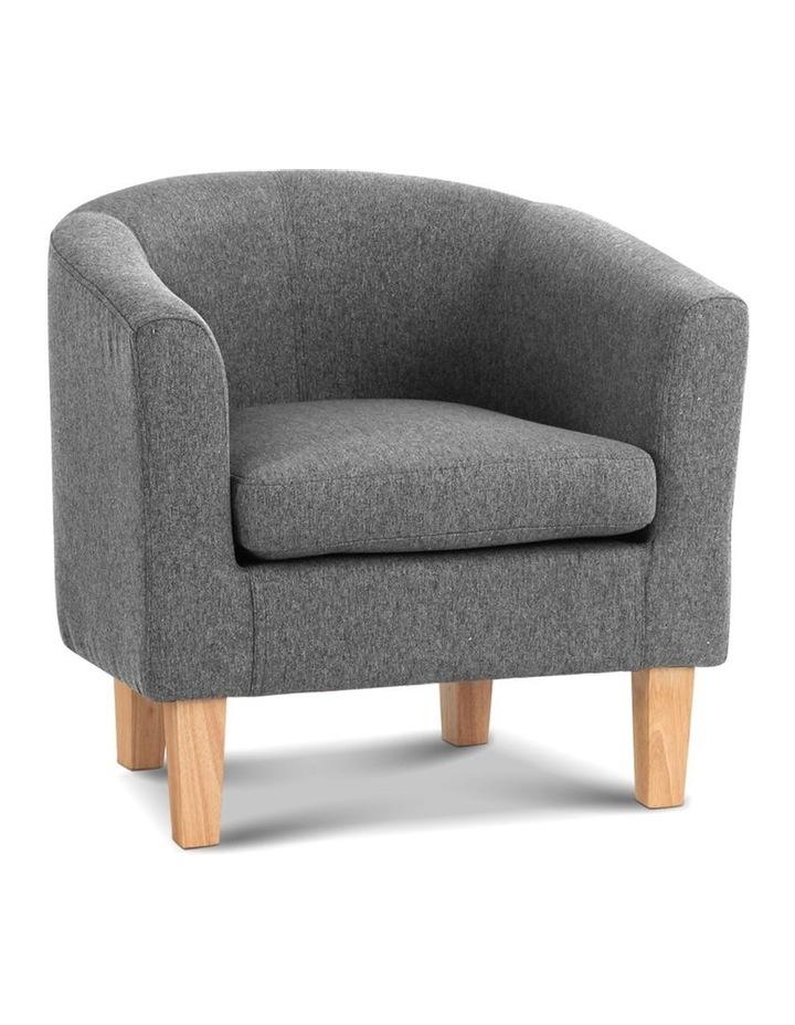 Abby Farbic Armchair - Grey image 1
