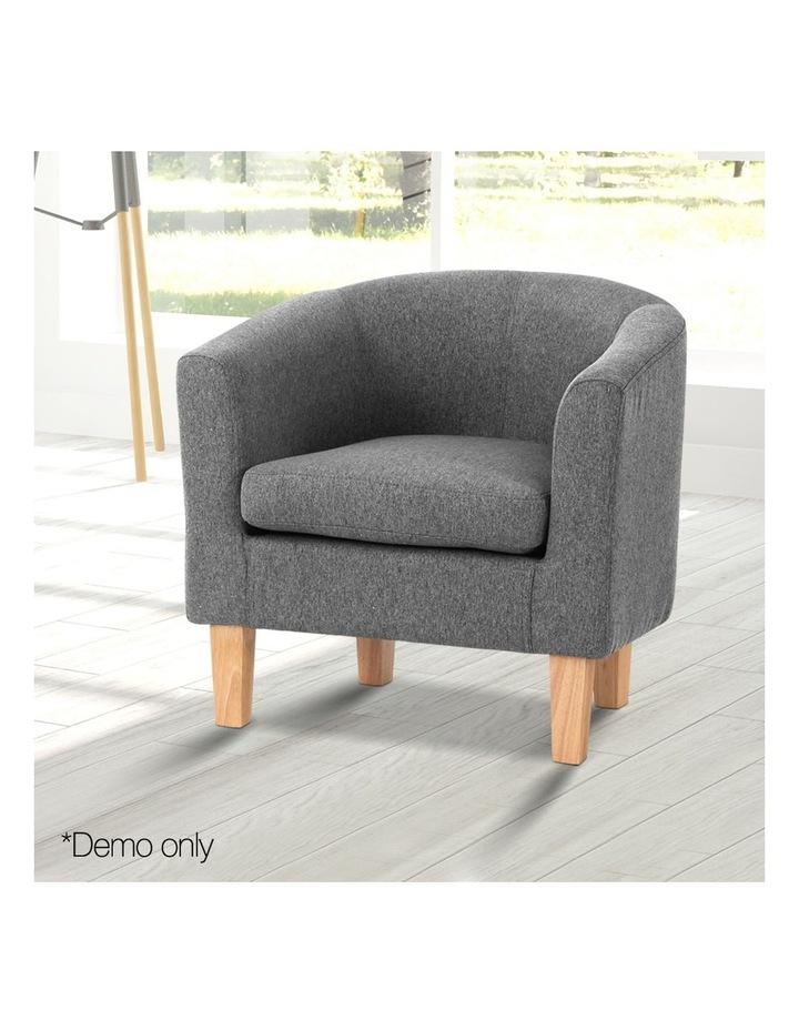 Abby Farbic Armchair - Grey image 3