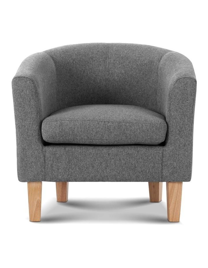 Abby Farbic Armchair - Grey image 4