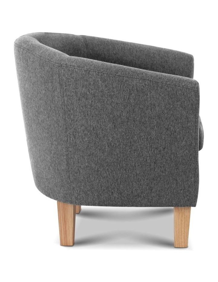 Abby Farbic Armchair - Grey image 5