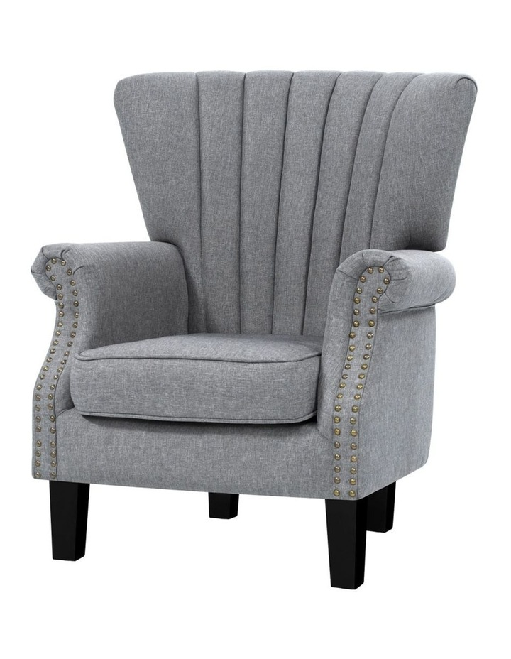 Upholstered Fabric Armchair image 1