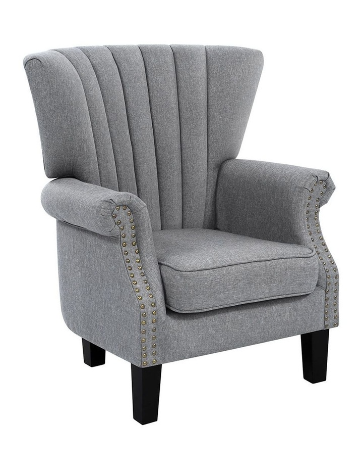 Upholstered Fabric Armchair image 2