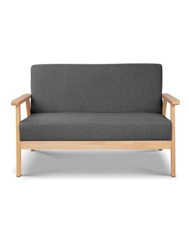 2 Seater Fabric Sofa Chair image 3