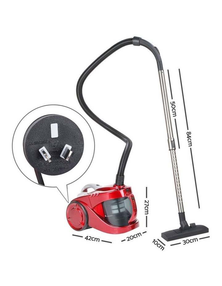 Bagless Cyclone Cyclonic Vacuum Cleaner - Red image 2