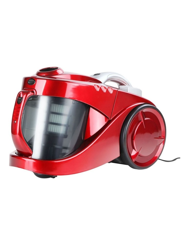 Bagless Cyclone Cyclonic Vacuum Cleaner - Red image 3