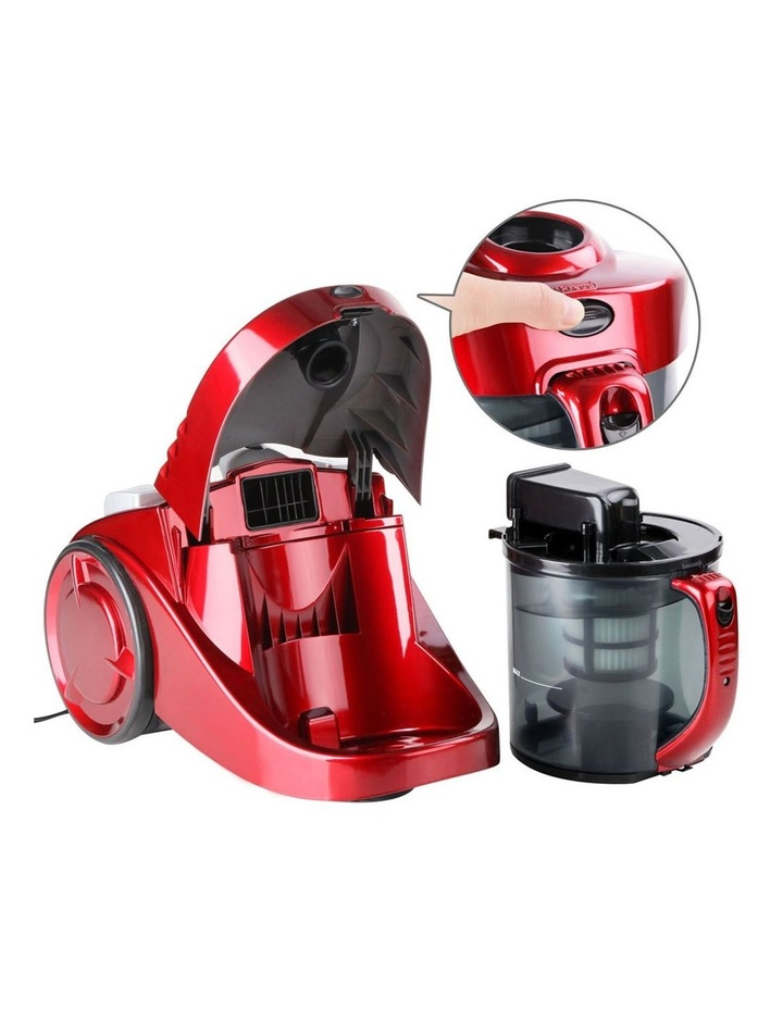 Bagless Cyclone Cyclonic Vacuum Cleaner - Red image 5