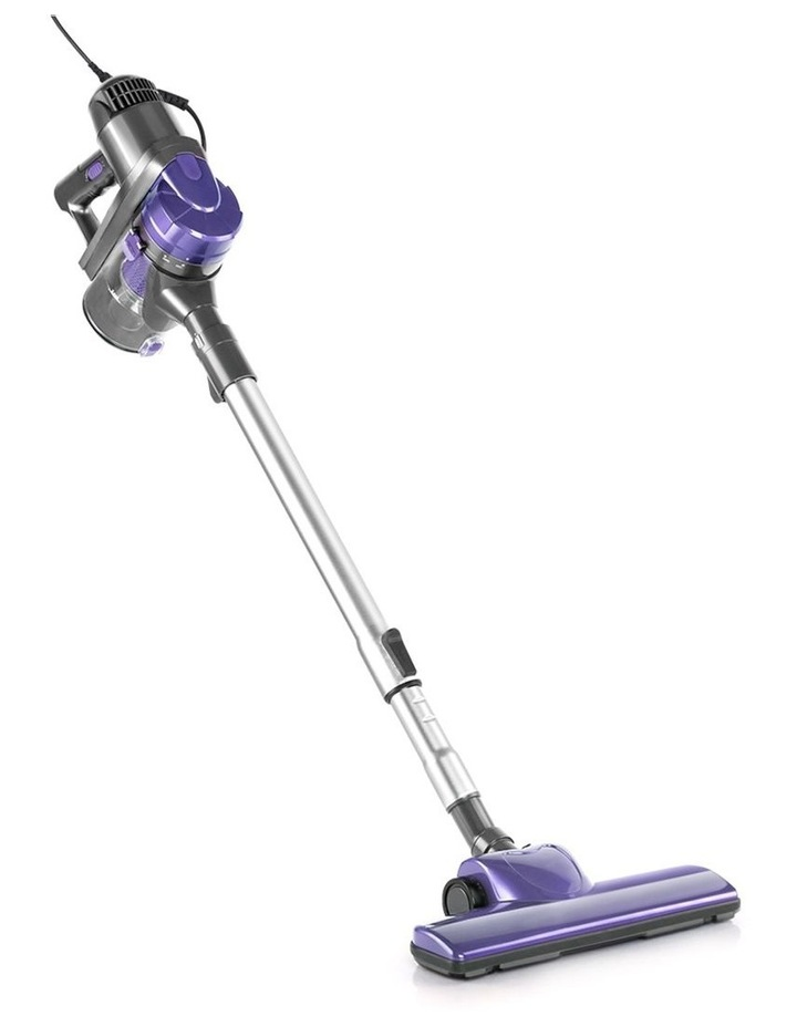 Corded Handheld Bagless Vacuum Cleaner - Purple and Silver image 1