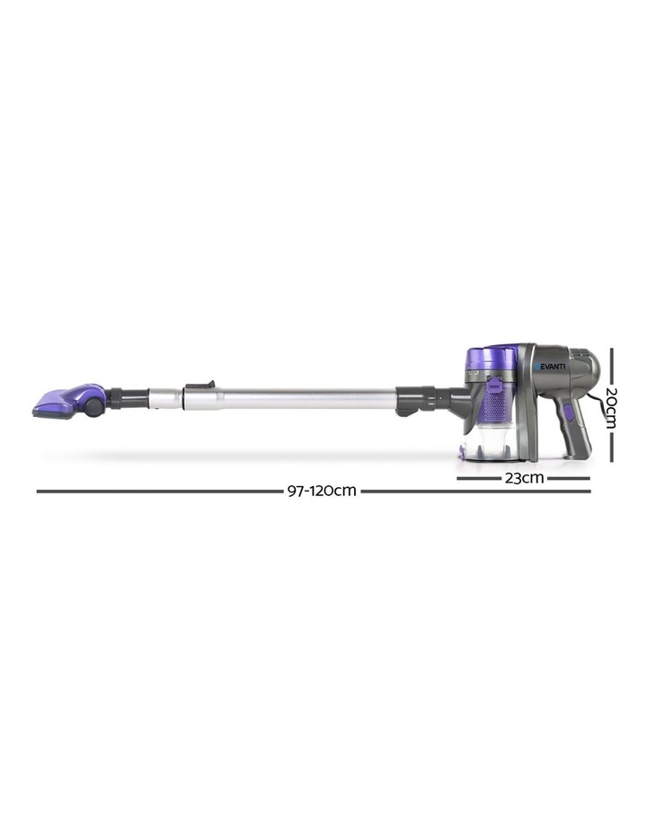Corded Handheld Bagless Vacuum Cleaner - Purple and Silver image 2