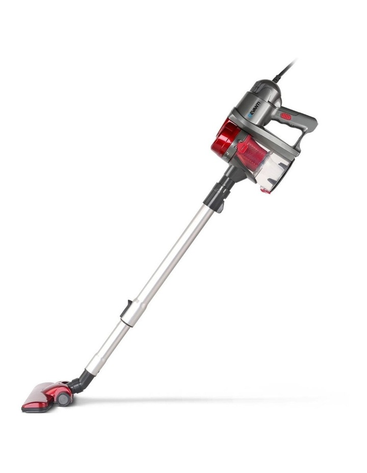 Corded Handheld Bagless Vacuum Cleaner - Red and Silver image 3