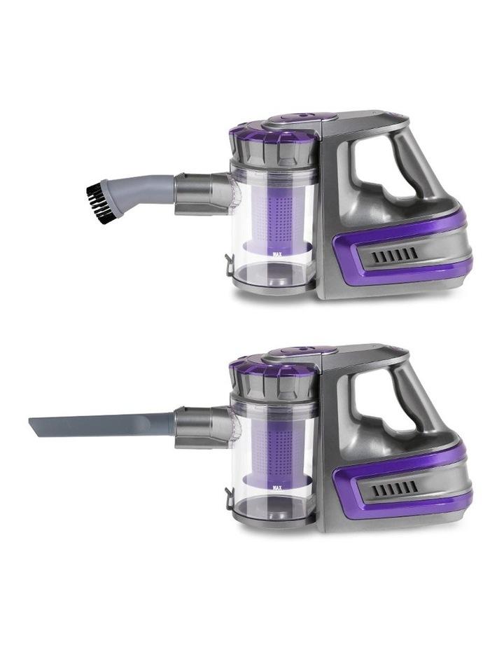 150W Cordless Stick Vacuum Cleaner Handheld Bagless Vac 2-Speed Grey image 5