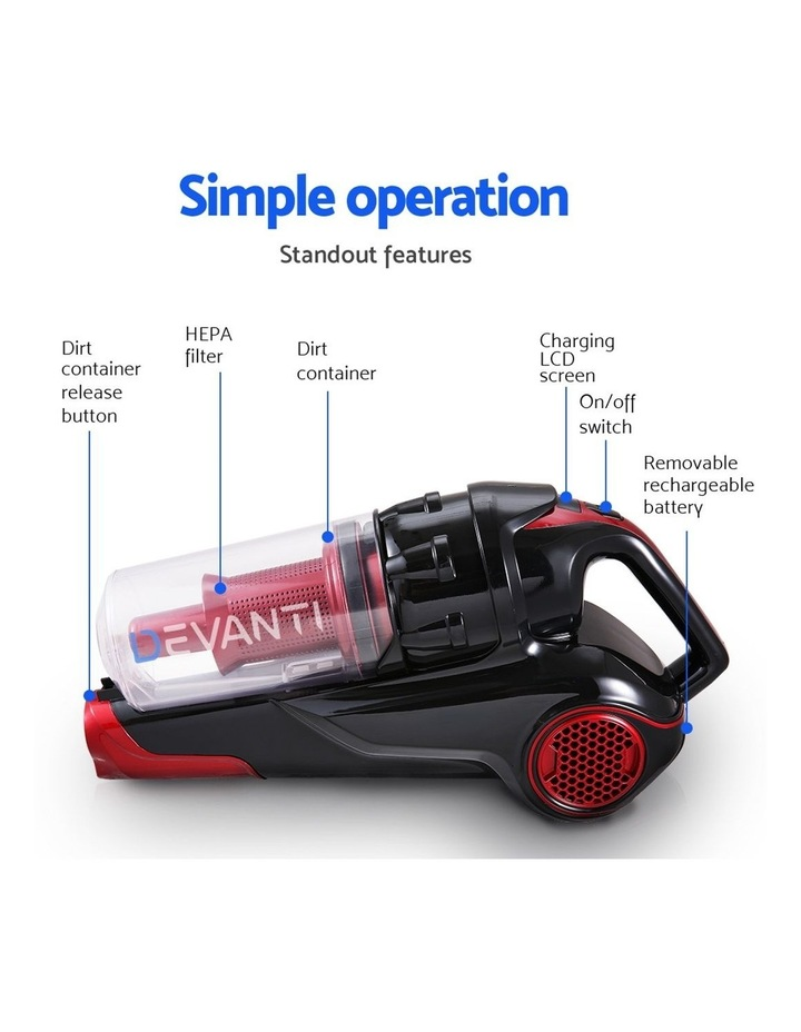Bagless Handstick Vacuum Cleaner image 4
