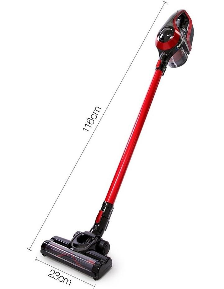 Devanti Cordless Stick Vacuum Cleaner - Black & Red image 2