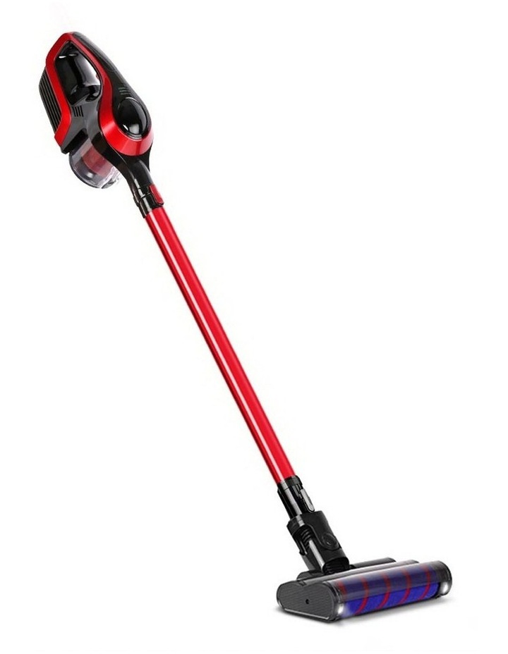 Cordless 150W Handstick Vacuum Cleaner - Red and Black image 1