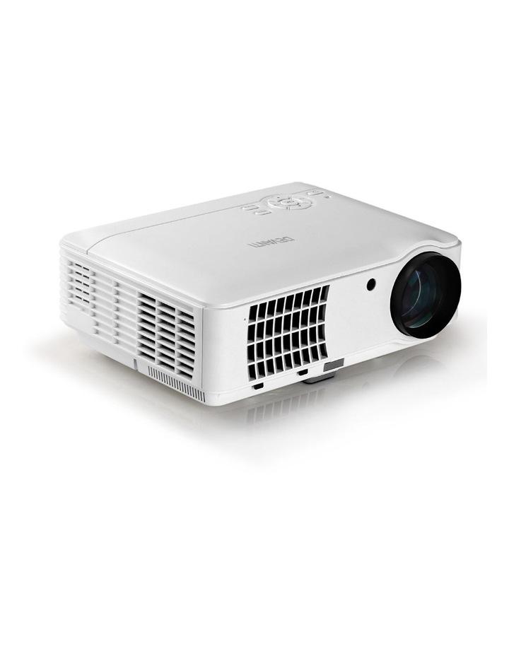 Devanti HD 1080P Video Projector 4000 Lumen LED Home Theatre Business Multimedia image 1