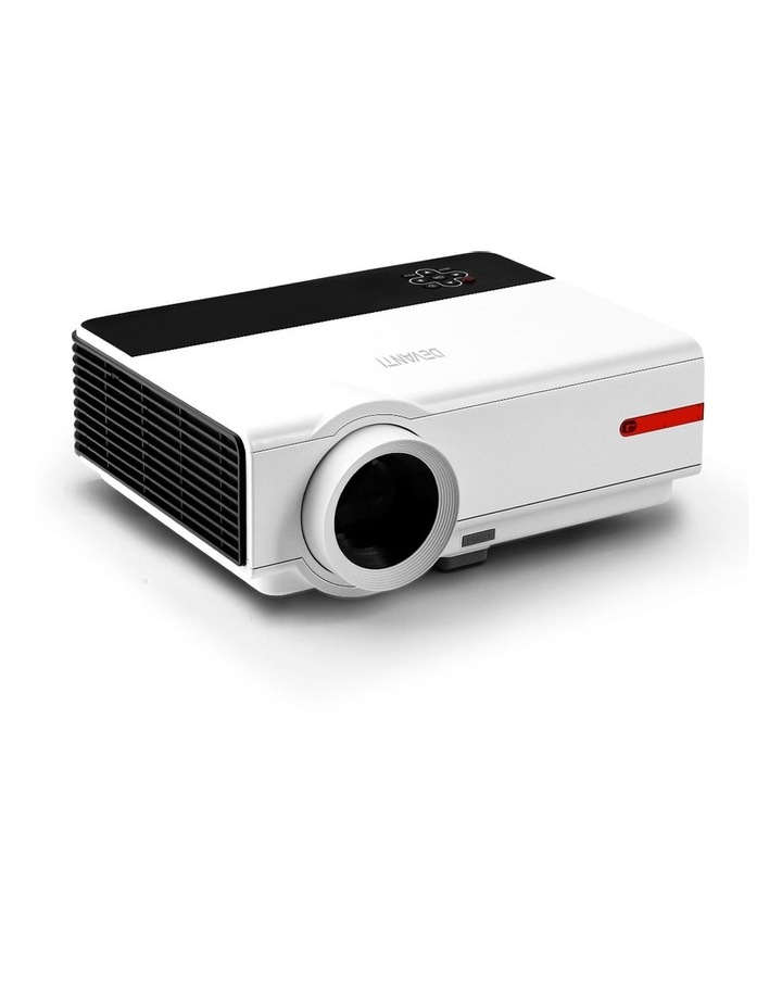 Devanti Smart HD Android Video Projector 5000 Lumen Home Theatre WiFi Bluetooth image 1