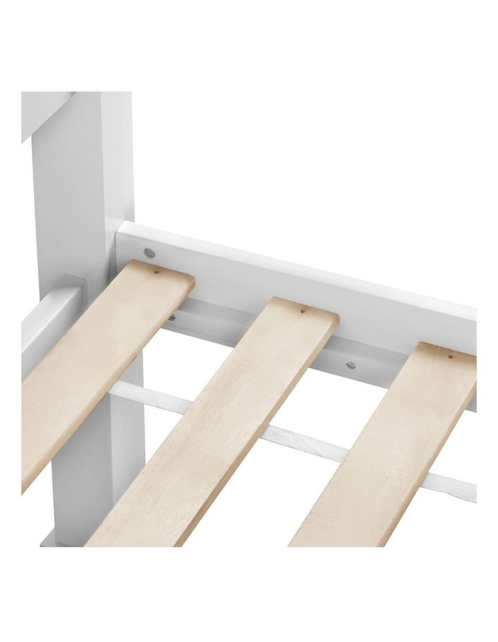 Single Size Wooden Bed Frame - White image 6