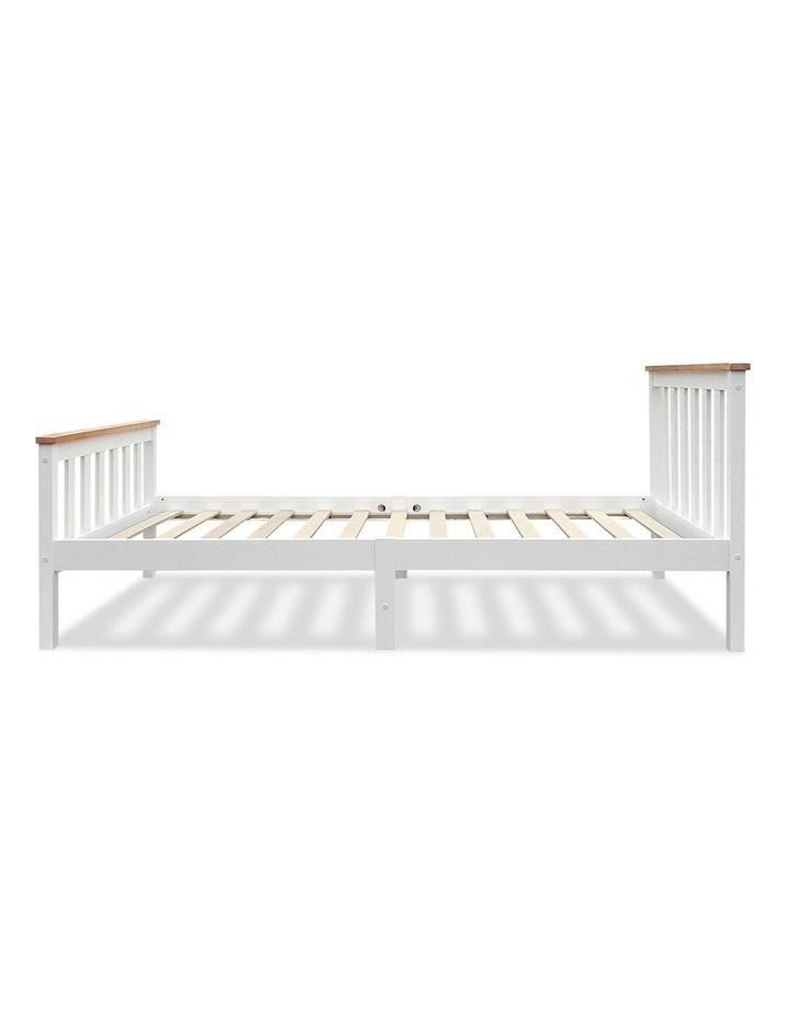 Single Wooden Bed Frame PONY Timber Mattress Base Bedroom Furniture Kids image 4