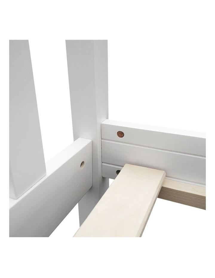 Single Wooden Bed Frame PONY Timber Mattress Base Bedroom Furniture Kids image 5