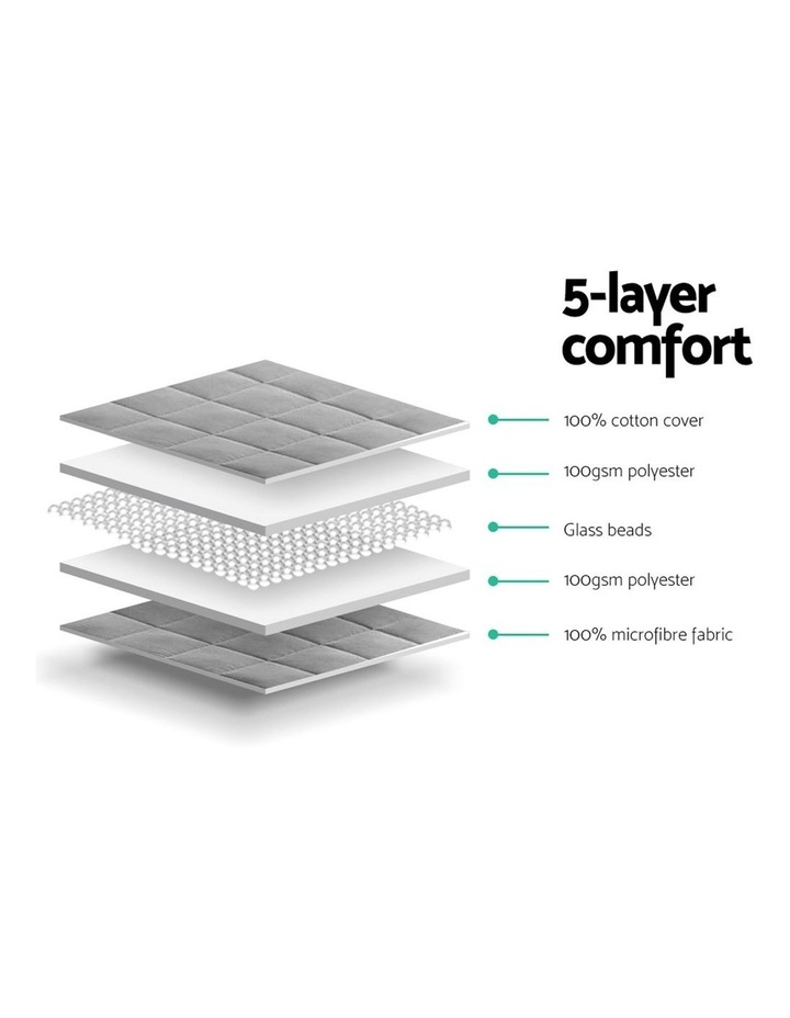 5KG Cotton Weighted Gravity Blanket Deep Relax Calming Adult image 5