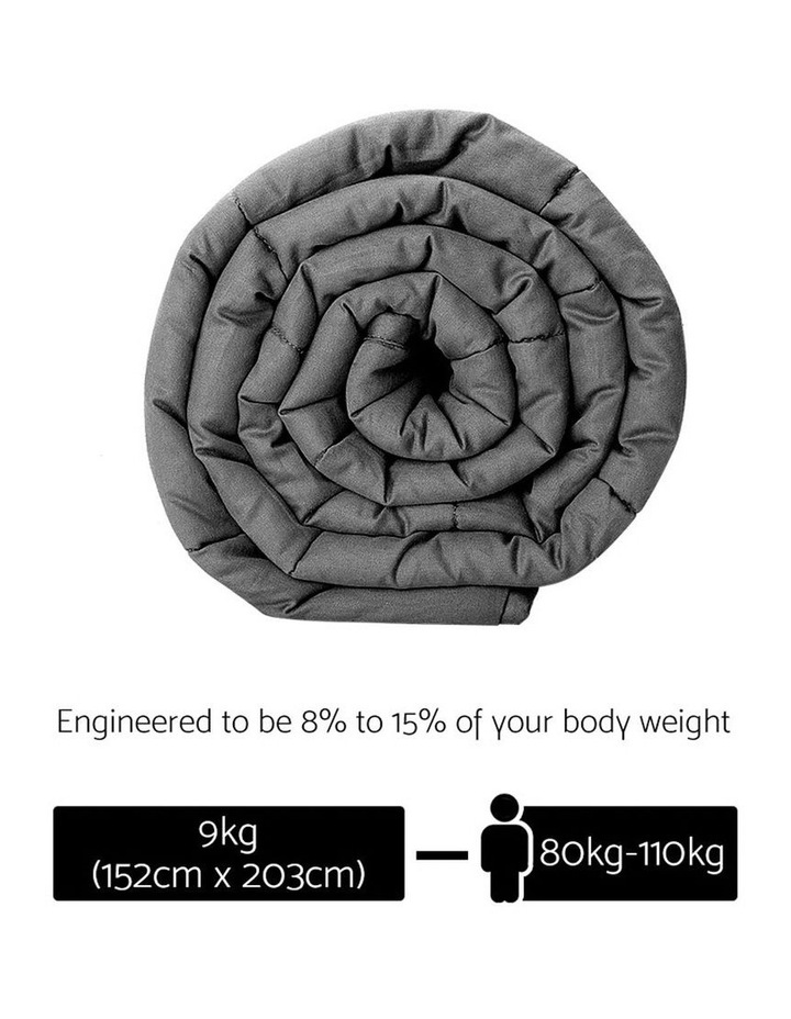 9KG Cotton Weighted Gravity Heavy Blanket Deep Sleeping Adult image 2