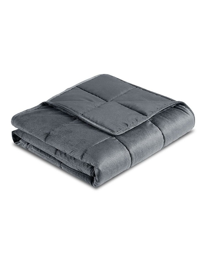 Weighted Blanket 9KG Heavy Gravity Minky Cover Relax Calm Adult image 1