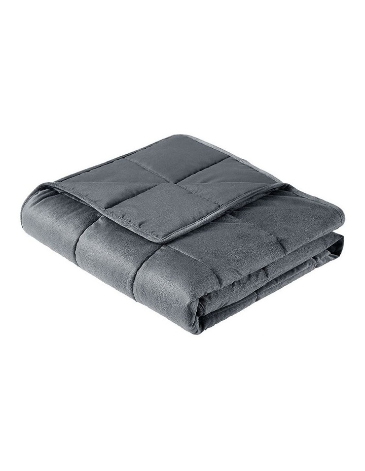 Weighted Blanket 9KG Heavy Gravity Minky Cover Relax Calm Adult image 3