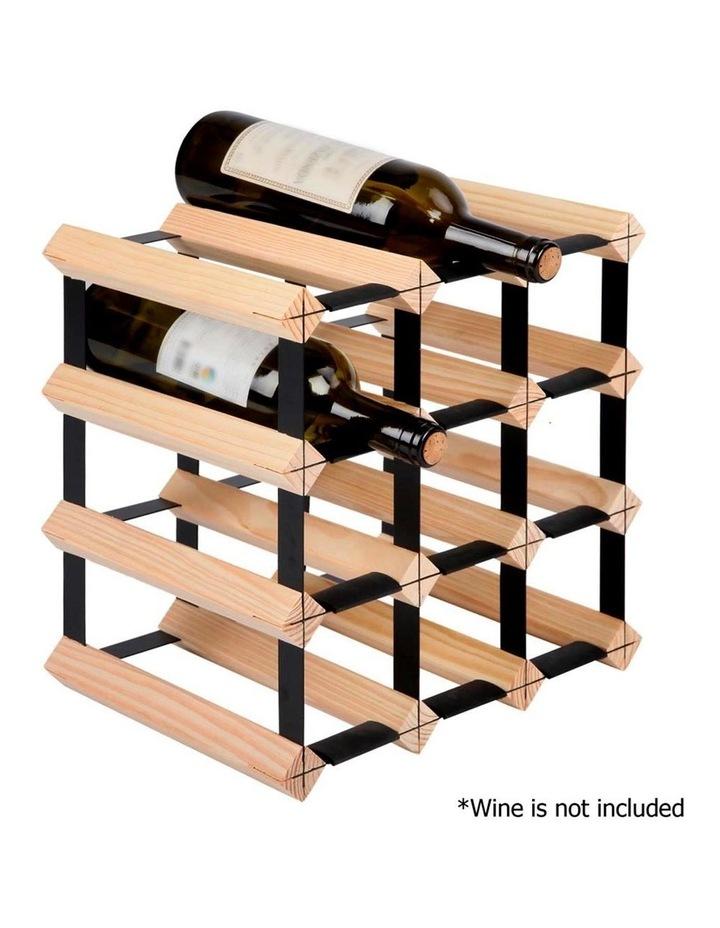12 Bottle Timber Wine Rack image 3