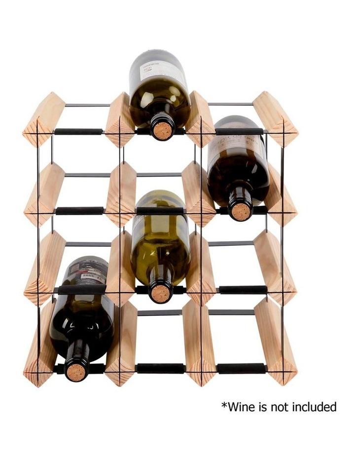 12 Bottle Timber Wine Rack image 4