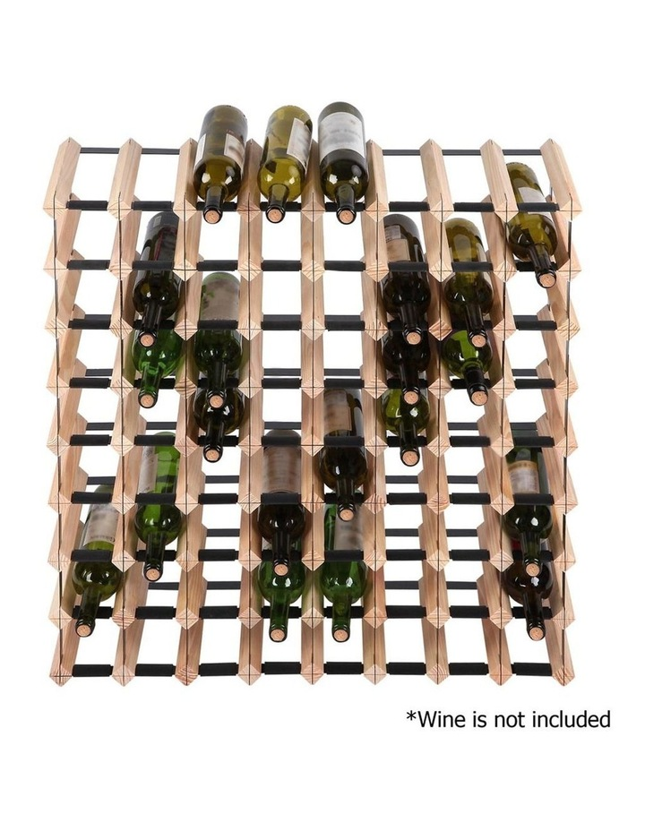 72 Bottle Timber Wine Rack image 3