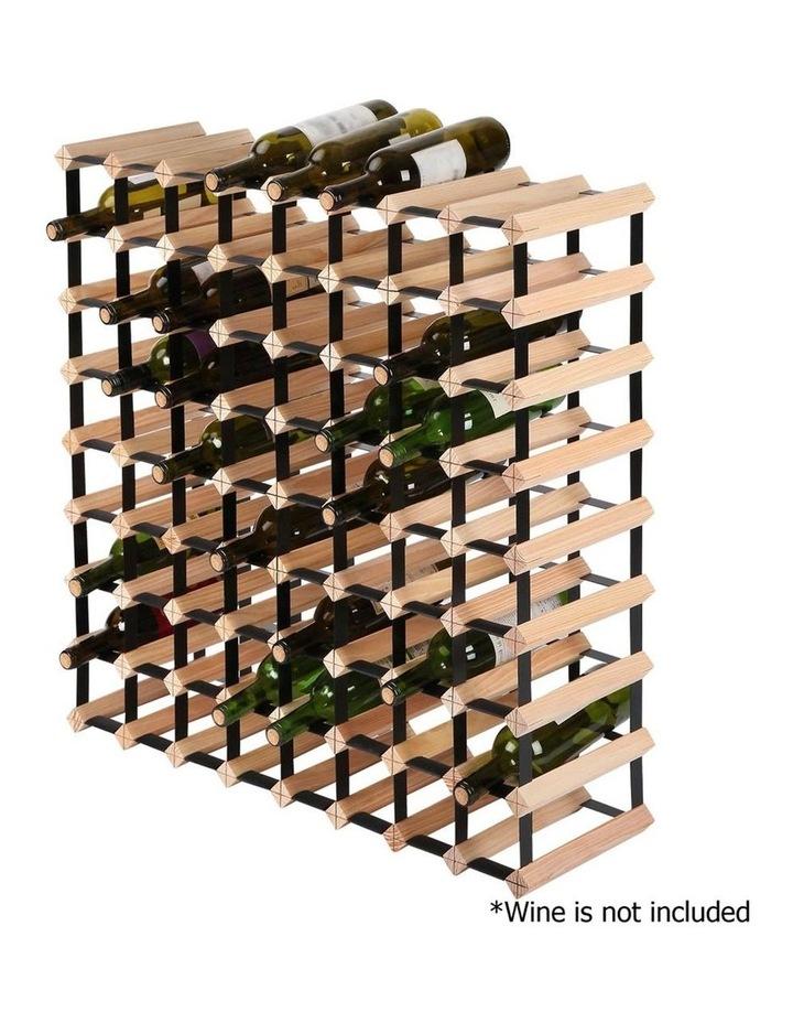 72 Bottle Timber Wine Rack image 4