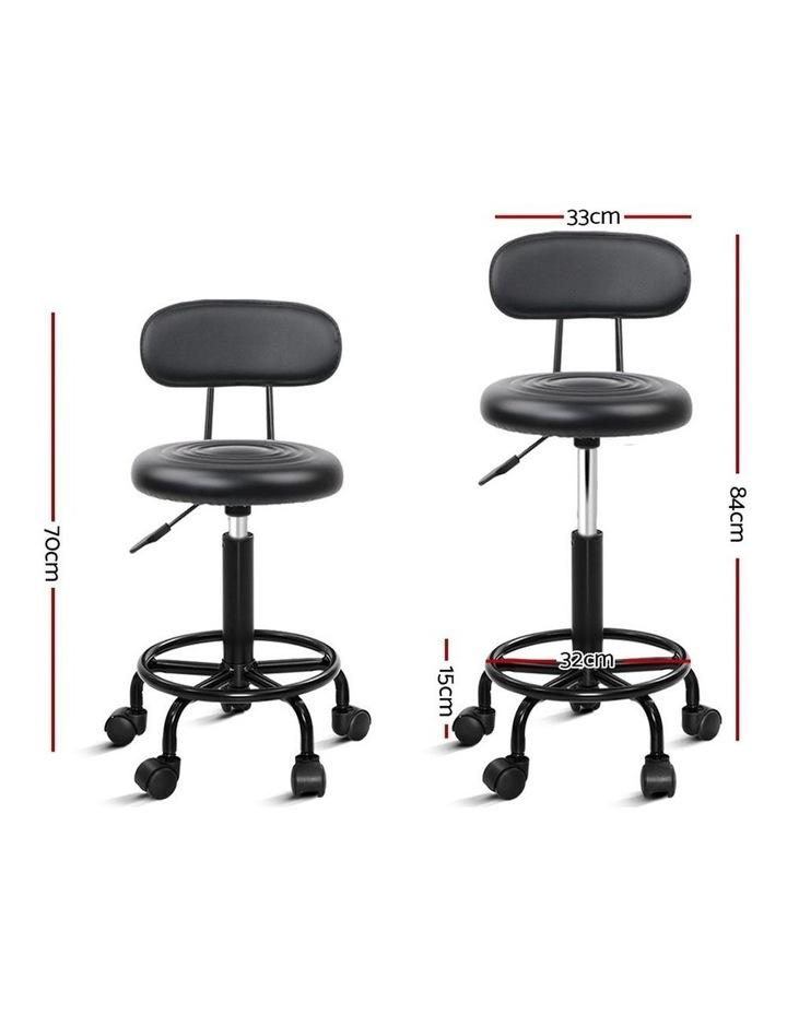 Artiss Salon Stool Swivel Barber Chairs image 2