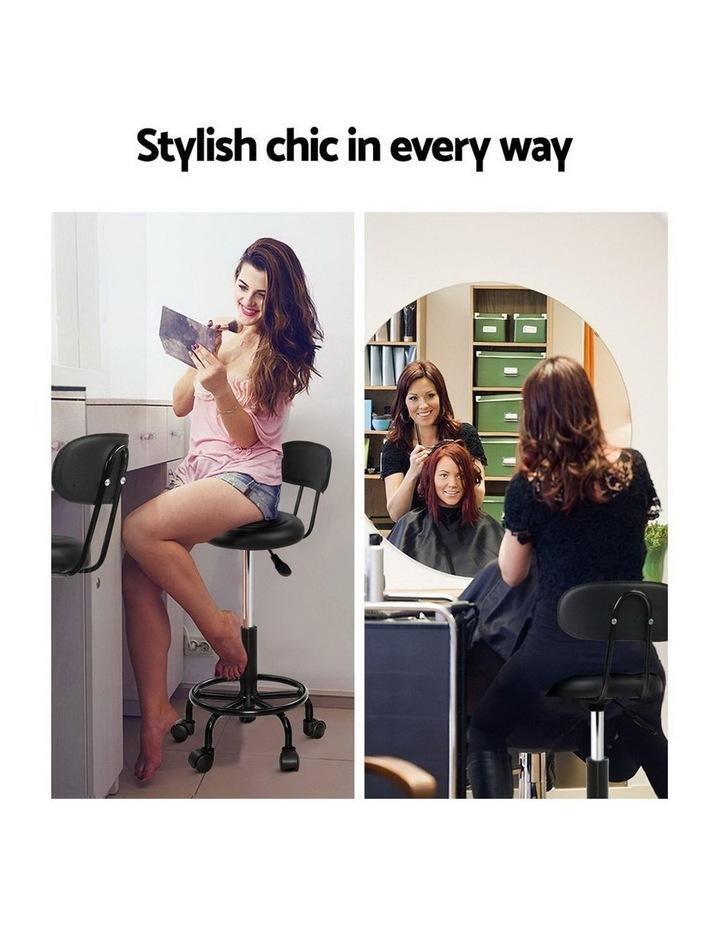 Artiss Salon Stool Swivel Barber Chairs image 4