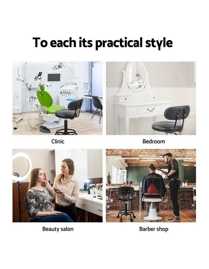Artiss Salon Stool Swivel Barber Chairs image 5