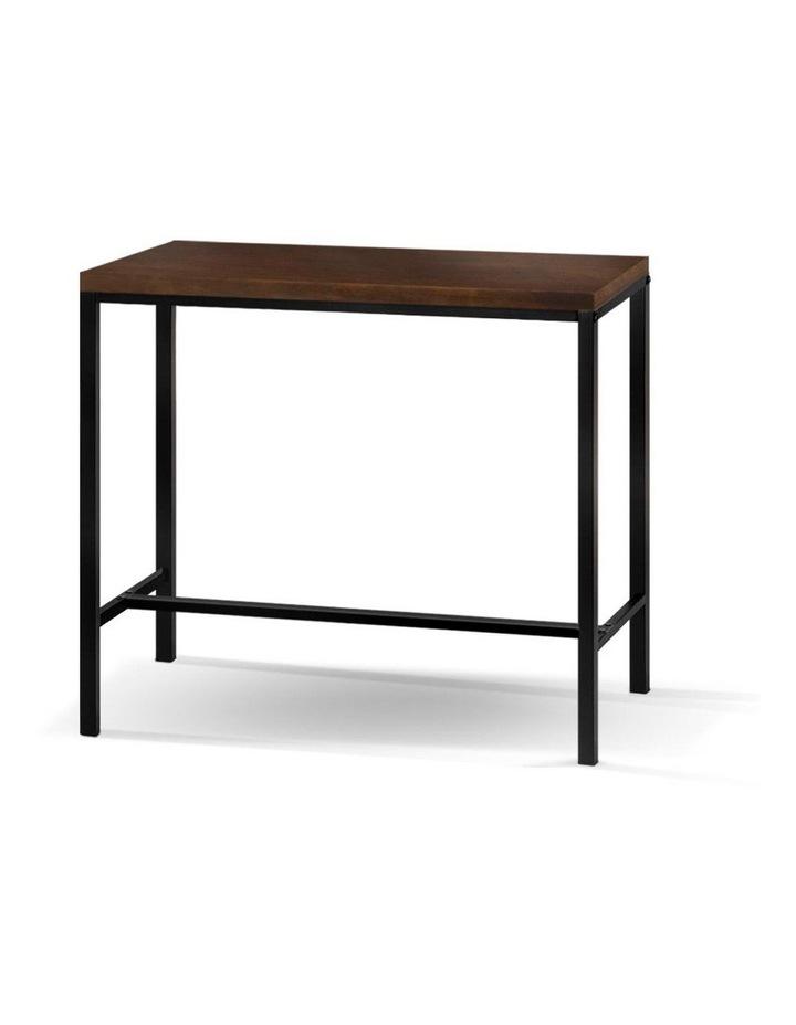 Vintage Industrial High Bar Table for Stool Kitchen Cafe Desk Dark Brown image 1